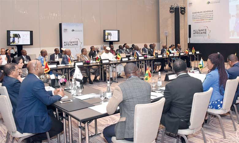 Alliance africaine pour le développement de la formation professionnelle : grand-messe à Casablanca