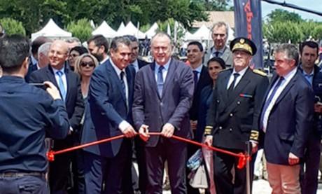 Aziz Akhannouch inaugure le pavillon  du Maroc au Salon de la chasse et de la ruralité à Lamotte-Beuvron
