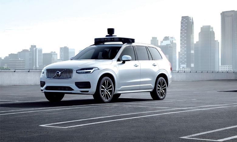 Présentation d'un véhicule prêt pour la conduite autonome