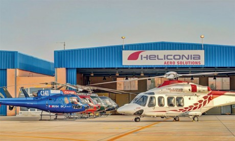 800 pilotes d'hélicoptère britanniques  à la disposition de Heliconia