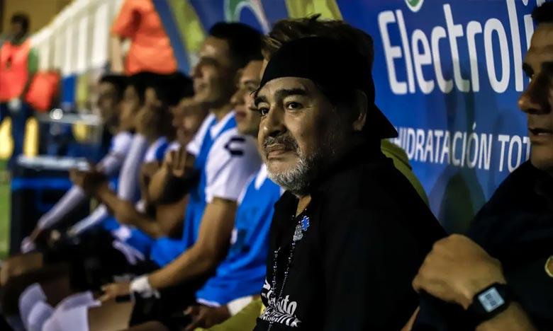 Maradona quitte les Dorados de Sinaloa