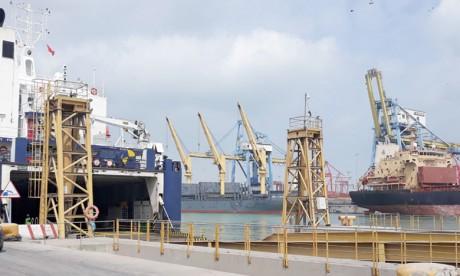 La 1ère phase du nouveau chantier naval de Casablanca en cours d'achèvement