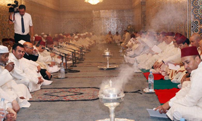 Cérémonie religieuse à la mémoire des glorieux Sultans alaouites