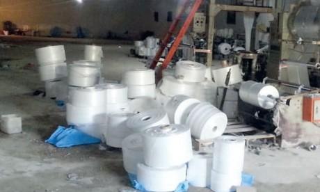 Plus d'importation de polyéthylène  pour sept entreprises