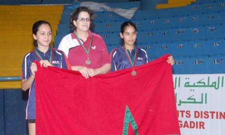 Six podiums pour le Maroc