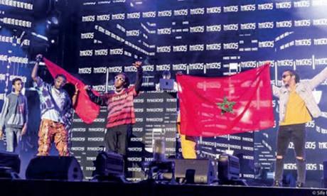 Migos offre un concert mémorable à OLM Souissi