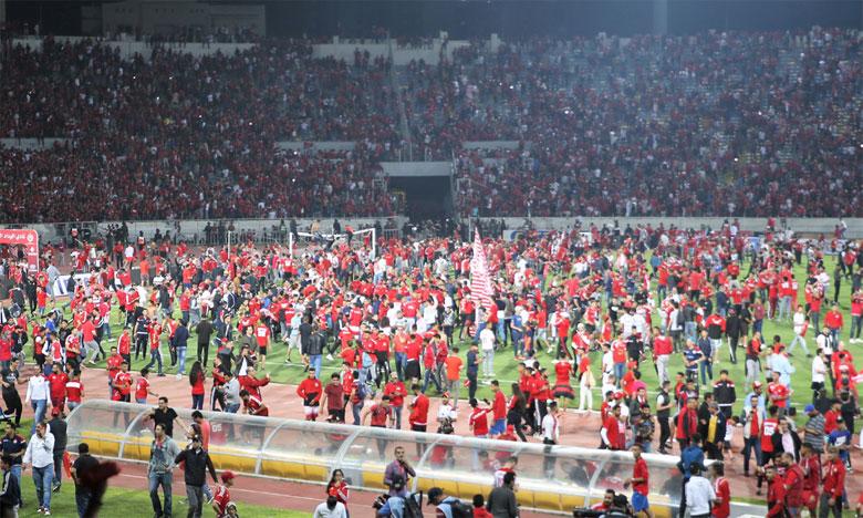 Victorieux face à l'Olympique de Khouribga, le WAC champion à une journée de la fin