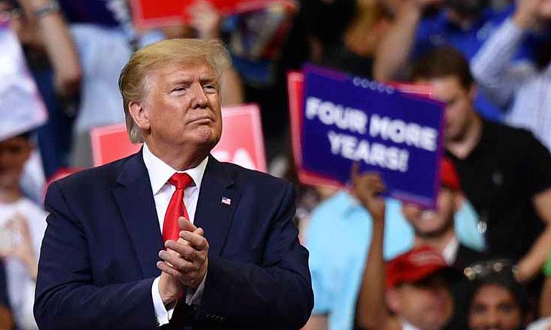 «Nous y sommes arrivés une fois, nous y arriverons encore. Et cette fois nous allons finir le travail» a déclaré M. Trump. Ph. DR.