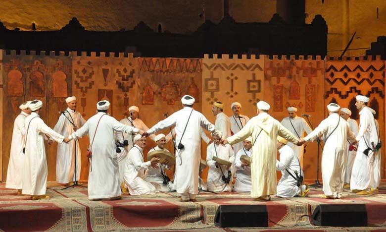 Ouarzazate accueille le 8e Festival national des Arts d'Ahwach