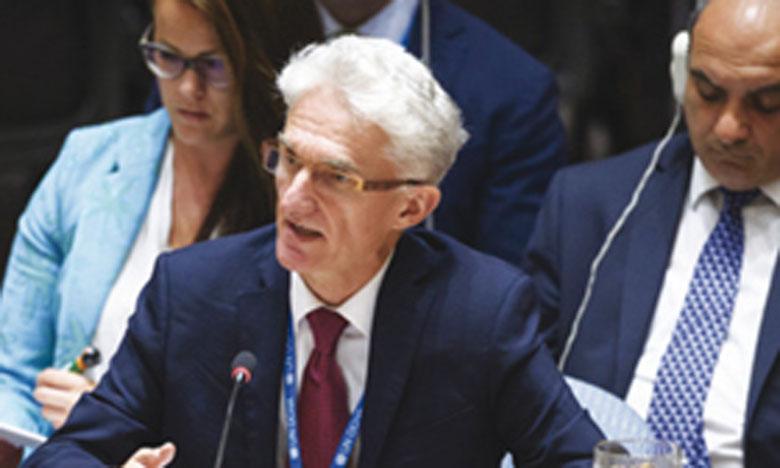 «Allégez la souffrance, sauvez des vies, mettez fin aux combats, respectez la loi», a demandé le chef de l'humanitaire de l'ONU, Mark Lowcoc. Ph. ONU