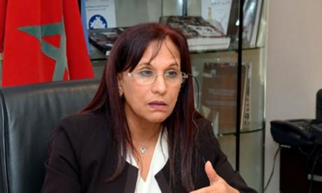 La présidente du Conseil national des droits de l'Homme rencontre des membres des familles des détenus
