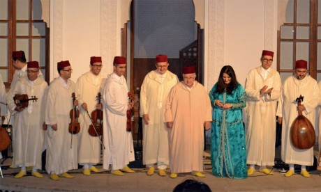 Une inoubliable nuit de gharnati avec maitre Ahmed Pirou