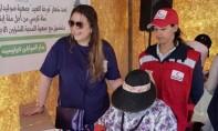 Distribution de 100 fauteuils roulants  à des personnes nécessiteuses