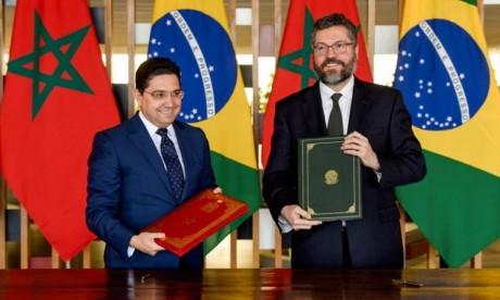 Sahara  marocain : le Brésil soutient les efforts du Maroc