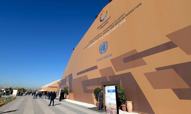 Le Maroc a été choisi au premier tour du vote avec 46 voix sur les 53 pays votants, le score le plus élevé. Ph :  AFP