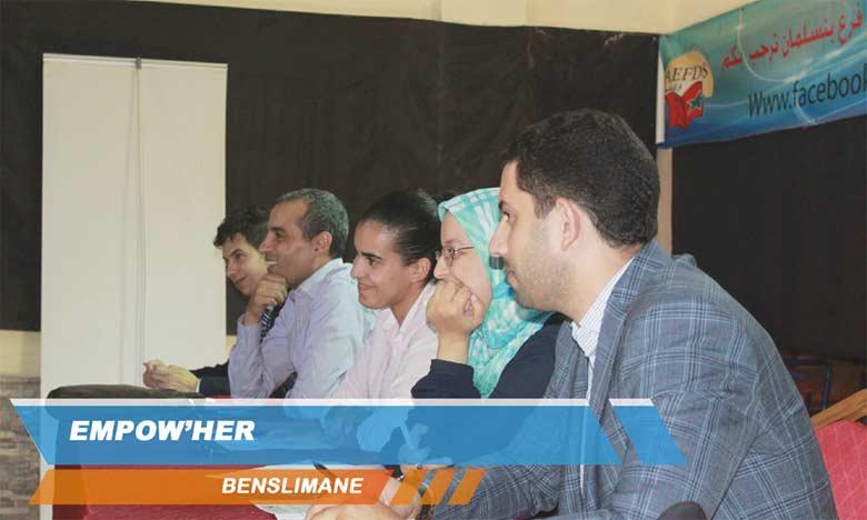 Le programme Empow'her fait escale à Benslimane