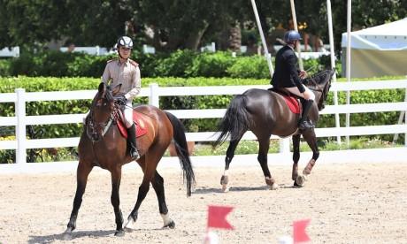 Saut d'obstacles: Coup d'envoi du concours officiel de la Garde Royale