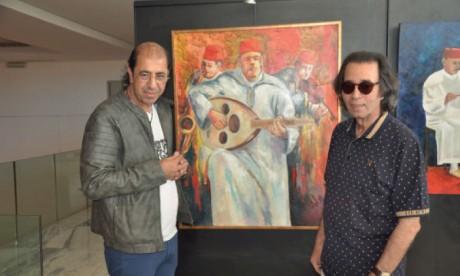 Naïm Chemaou (à droite) et Aziz Tounsi.