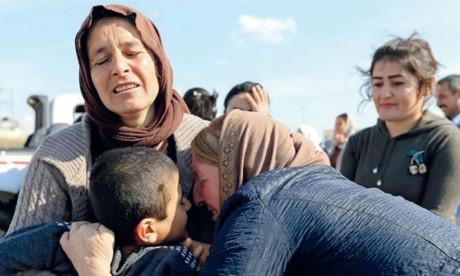 Yézidis : Bagdad entame l'identification des restes d'un charnier