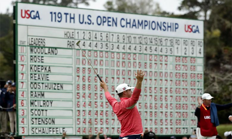 L'Américain Woodland s'adjuge l'US Open