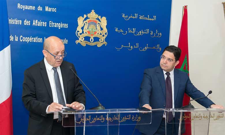 Nasser Bourita : «Le partenariat entre les deux pays est porté par une volonté affirmée  au plus haut niveau entre S.M. le Roi Mohammed VI et le Président Emmanuel Macron»