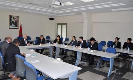 Visite d'une délégation chinoise à l'IRES