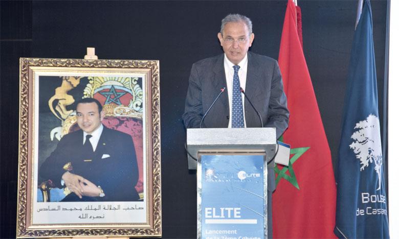Selon le DG de la Bourse de Casablanca, Karim Hajji, Elite Maroc c'est désormais 82 sociétés,  dont 25 certifiées. Ph.Seddik
