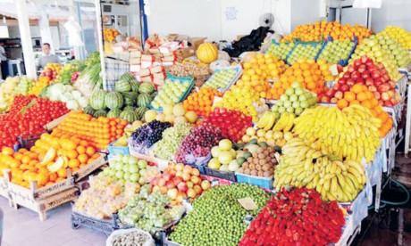 Projet d'enquête sur les fruits  et légumes chez l'ONSSA