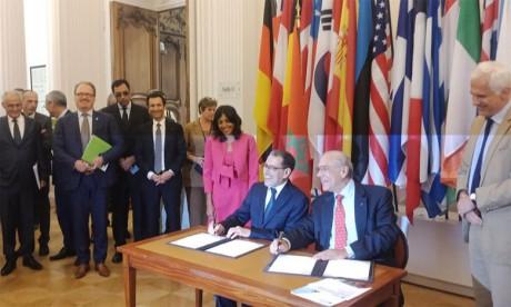 Ouverture à Paris d'une Réunion de haut niveau Maroc-OCDE