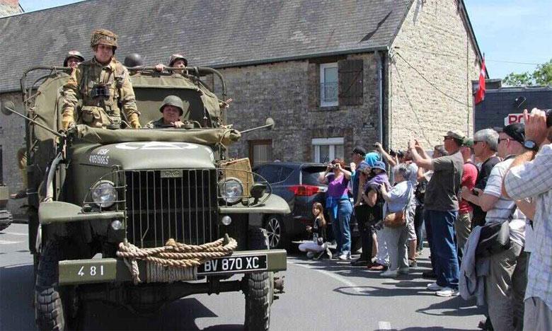 Plus de 30.000 personnes dont 480 vétérans attendus pour le 75e anniversaire  du débarquement allié en Normandie