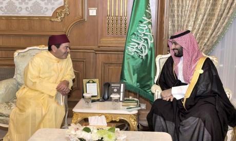 S.A.R. le Prince Moulay Rachid rencontre le Prince héritier d'Arabie saoudite en marge du Sommet de l'OCI