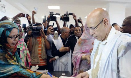 Mohamed Cheikh El Ghazouani a été élu président de la Mauritanie avec 52% des suffrages au premier tour. Ph. DR