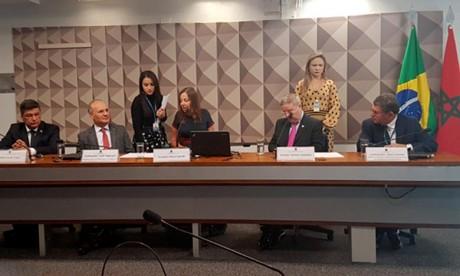 Le groupe d'amitié Brésil-Maroc installé au Sénat brésilien