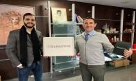 De gauche à droite, Zayd Drissi, directeur général de MAROC STYLE Ltd et Abdeltif Kabbaj, directeur général de SOFTRETAIL SARL.
