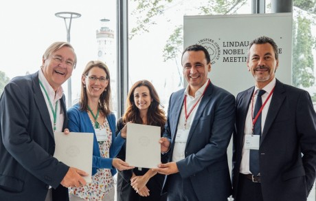Honoris scelle un partenariat avec les Rencontres des lauréats du prix Nobel à Lindau