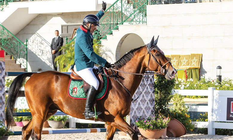 Le Morocco Royal Tour présent au Longines Paris Eiffel Jumping