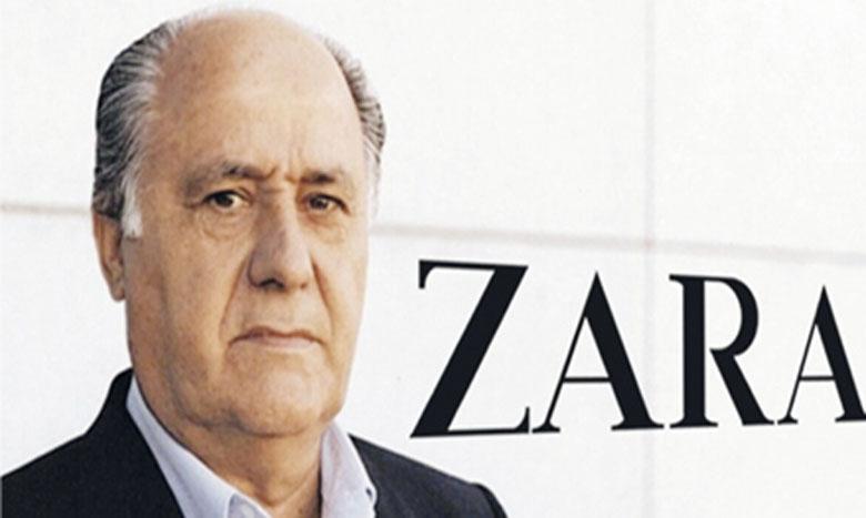 Avec une fortune de 67,2 milliards de dollars, l'Espagnol Amancio Ortega, patron d'Inditex, pointe dans le Top 10.