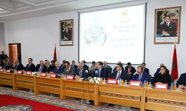 Plus de 22 milliards de dirhams pour la réalisation de 149 projets dans le cadre du contrat-programme de développement de la région de Dakhla-Oued Eddahab