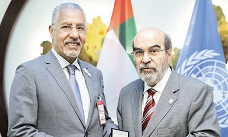 L'expert agronome marocain Abdelouahab Zaïd reçoit  la médaille d'or de la FAO