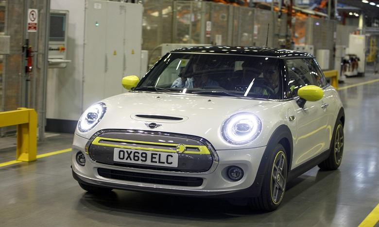 Mini dévoile sa première voiture entièrement électrique