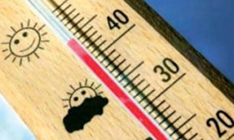 Fortes chaleurs dans plusieurs provinces du Royaume