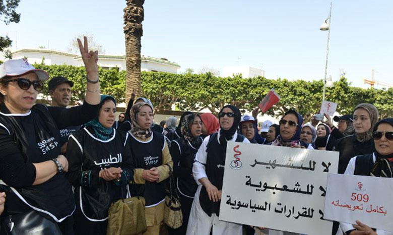 Après une accalmie de quelques semaine, les médecins du secteur public de nouveau en grève