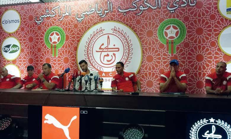 Hicham Al Idrissi nouvel entraîneur du Kawkab  de Marrakech