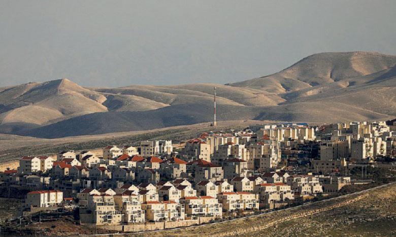 6.000 habitations pour des colons contre 700 pour les Palestiniens