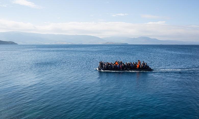 57 migrants secourus en mer par les autorités marocaines