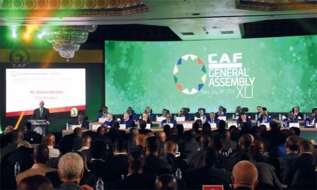 Ahmad Ahmad s'inquiète de l'absence de statut juridique de la CAF