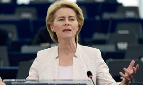 Ursula von der Leyen verdit son discours