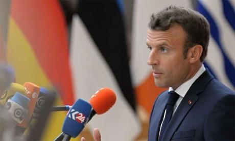 Macron appelle l'Iran à revenir «sans délai»  sur le dépassement de ses réserves d'uranium