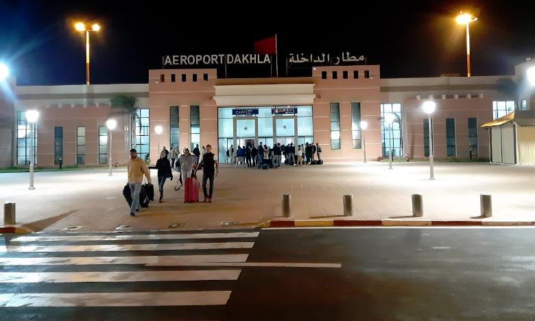 L'aéroport de Dakhla a clos l'année 2018 avec une augmentation de l'ordre de 20,23% du mouvement des passagers, ce qui correspond à 202.645 passagers. Ph. DR