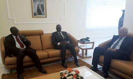Entretiens maroco-ivoiriens sur les moyens de resserrer les liens entre les deux institutions législatives
